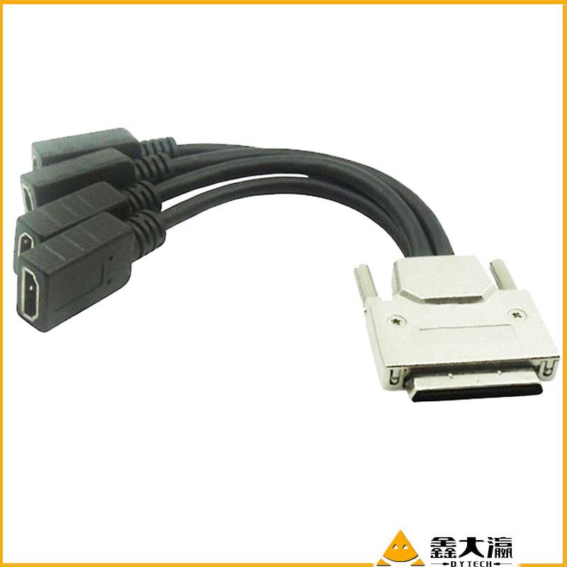 vga 3rca線vga轉換線rca線av轉vga線機頂盒接電視機vga數據連接線